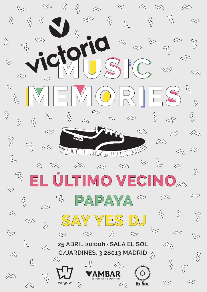 Victoria Music Memories: El Último Vecino, Papaya y Say Yes Dj