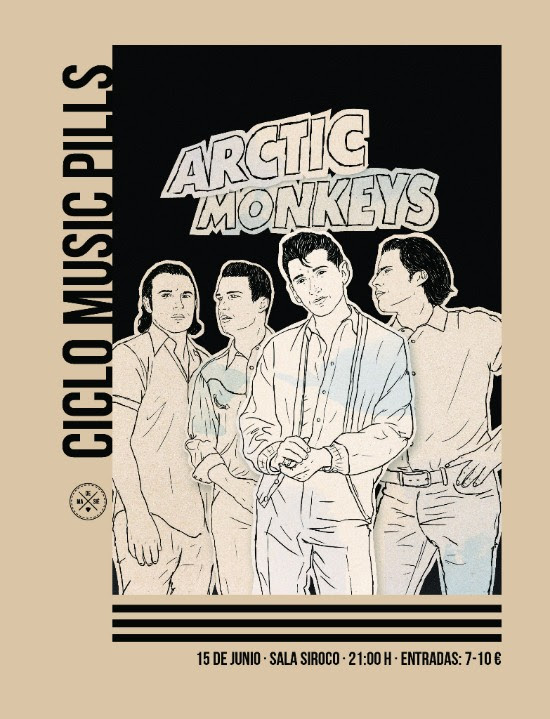 Arctic Monkeys Music Pills (15.Junio.2017; Sala Siroco -Madrid-)