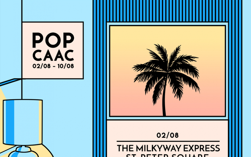 POP CAAC Agosto: The Milkyway Express, Guadalupe Plata, The Wedding Present…