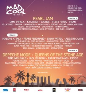 Cartel Mad Cool Festival 2018
