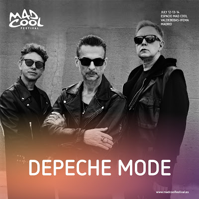 Depeche Mode Mad Cool 2018